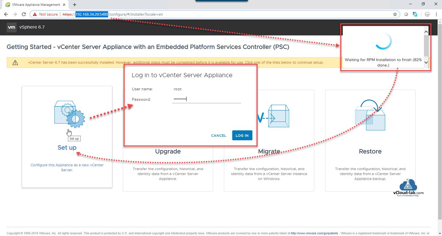 How to deploy vCenter server appliance on VMware Workstation | vGeek