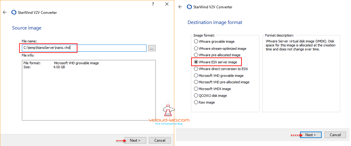HOW TO INSTALL WINDOWS NANO SERVER ON VMWARE WORKSTATION AND V2V
