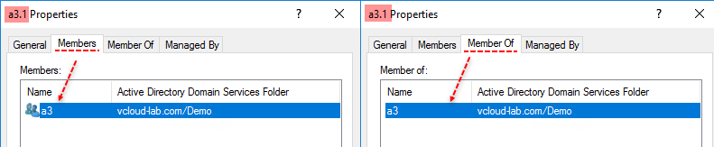 Powershell Active Directory: Show treeview of User or Group memberof