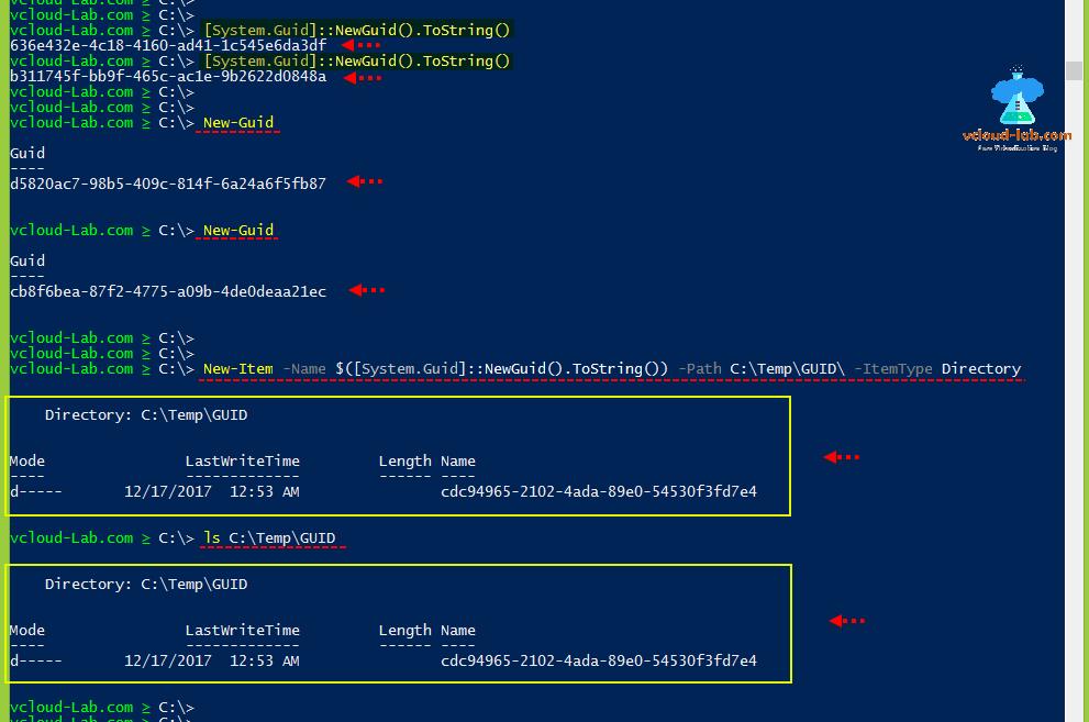 Microsoft Powershell generate random anything (Filename, TempPath
