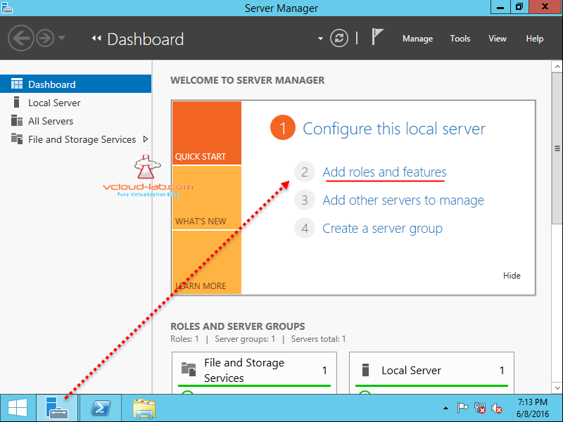 PART 1 : INSTALL ACTIVE DIRECTORY DOMAIN CONTROLLER ON