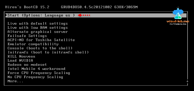 Resolved: Reset Esxi forgotten root password using hiren