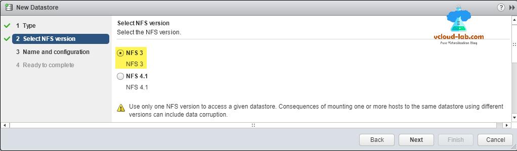 VMWare ESXi add and create NFS datastore | vGeek - Tales