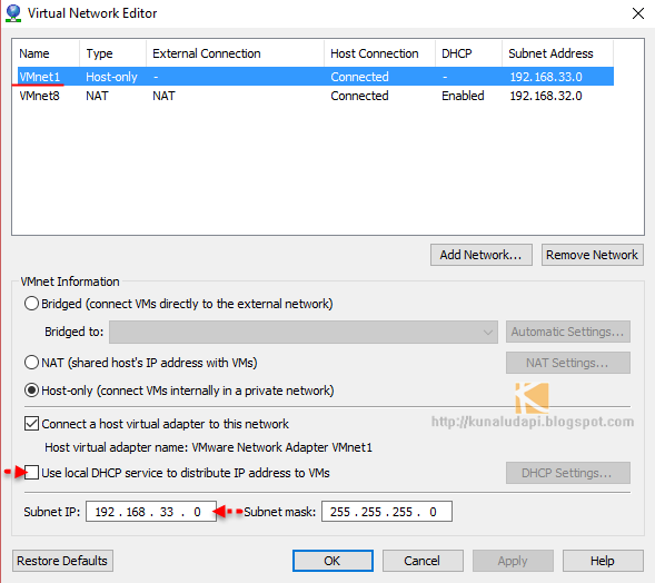 PART 4 : CONFIGURING VMWARE WORKSTATION NETWORKING IN HOME