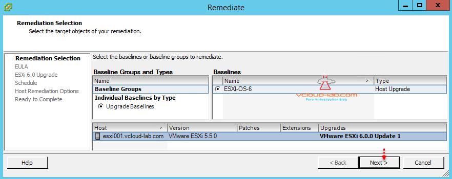 VMWARE VSPHERE UPDATE MANAGER (VUM) - UPGRADE ESXI OS