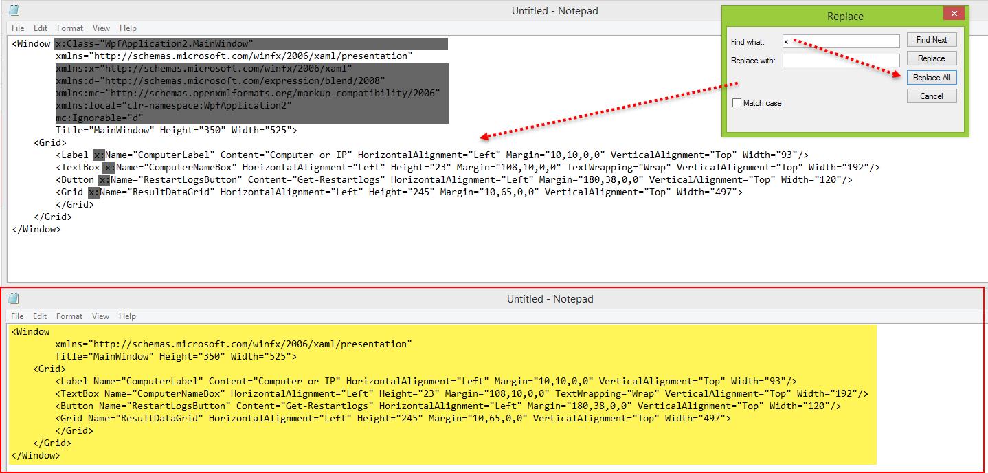 Create WPF XAML powershell GUI form with Visual studio | vGeek