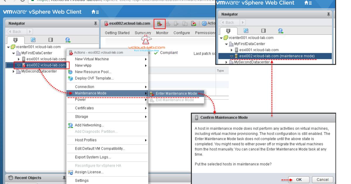 ESXI 6 5 UPGRADE INSTALLATION AND UI HTML WEB CLIENT   vGeek