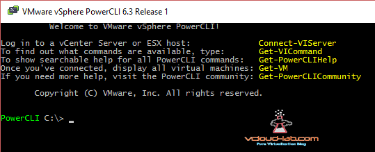 Powercli environment connect-viserver
