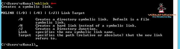 mklink create a symbolic link Microsoft Windows hard link vs soft symlink