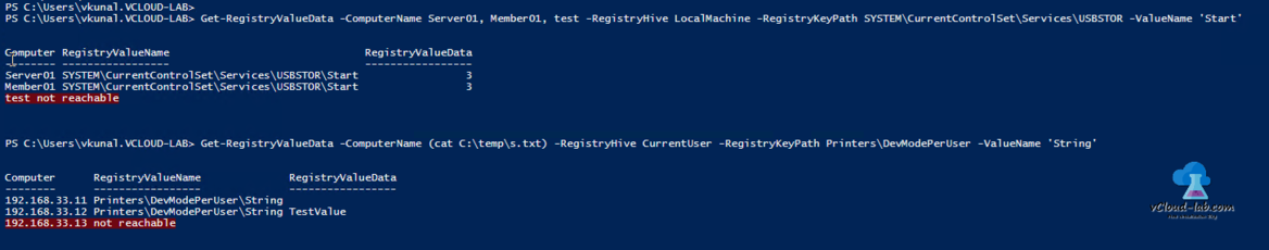Powershell get registry value, Get-RegistryValueData, Registry hive, Registry key path, value name data