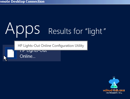 Search FInd HP Lights-Out Online Configuration Utility, reset hp reset password of ILO root Administrator.png