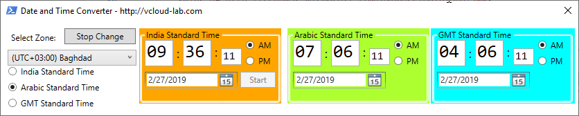 Powershell wpf gui, date and time converter select timezone get-date, timzone standard time ps1 script utc time, now.png