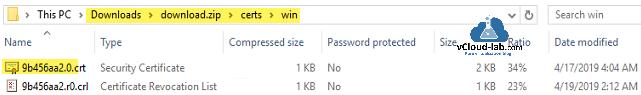 winrar, vmware vsphere powershell, vcenter esxi download.zip crt crl seucurity certificate Certificate revocation list vcenter vmware certificate authority openssl.png