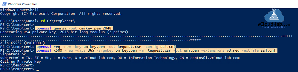 dsc powershell on linux, enable-psremoting, openssl genrsa omikey.pem omi.pem ssl.cnf desired state configuration, powershelldsc, currupted certificate, enable-psremoting, replace ssl pem certificate.png