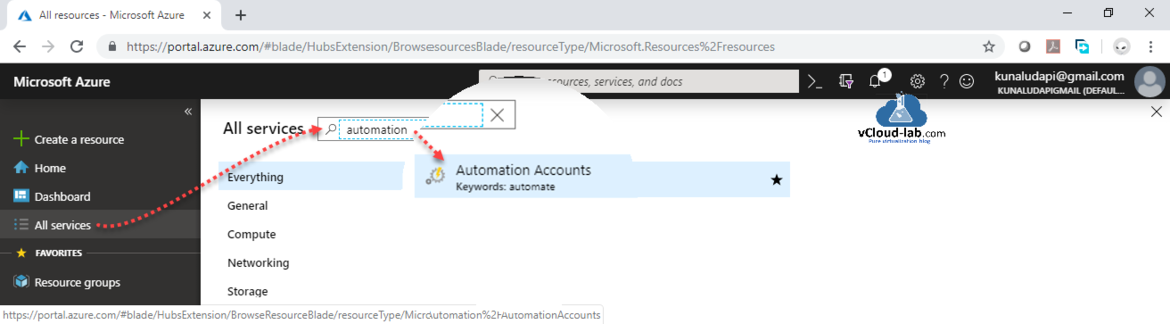 Microsoft Azure Automation Account All Services Azure dsc Desired state configuration DSC configuration node compiled automation account free setup onboard aws or on prem computer.png