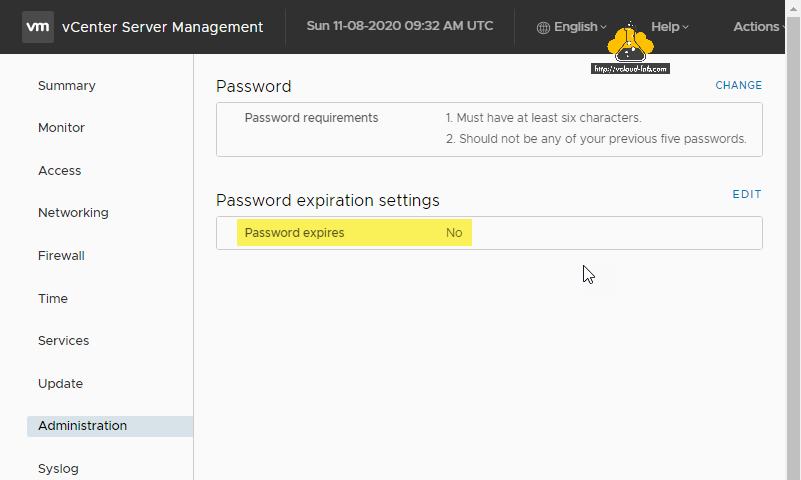 vmware vsphere vcenter server management administration password expires no password requirement vami 5480 esxi vcenter.png